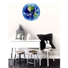Load image into Gallery viewer, Wall sticker 3D luminous blue earth