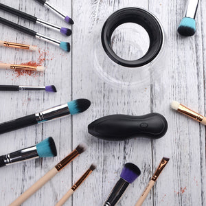 Electric Makeup Brushes Cleaner & Dryer In Seconds