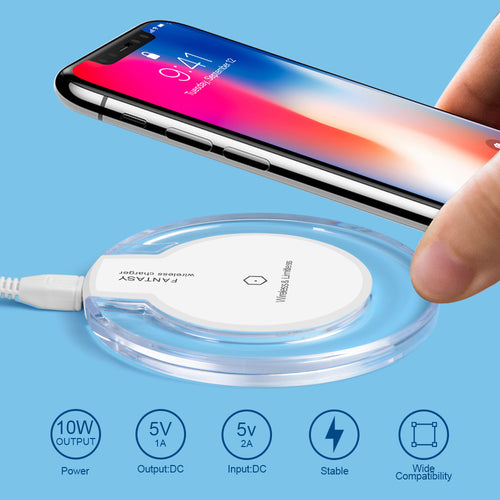 Wireless induction charger USB