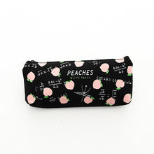 Load image into Gallery viewer, Trendy school pencil case Fruit Peach