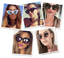 Load image into Gallery viewer, Fashion Cat eye Sunglasses