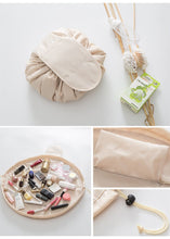 Load image into Gallery viewer, Hyper functional and big makeup bag with drawstring