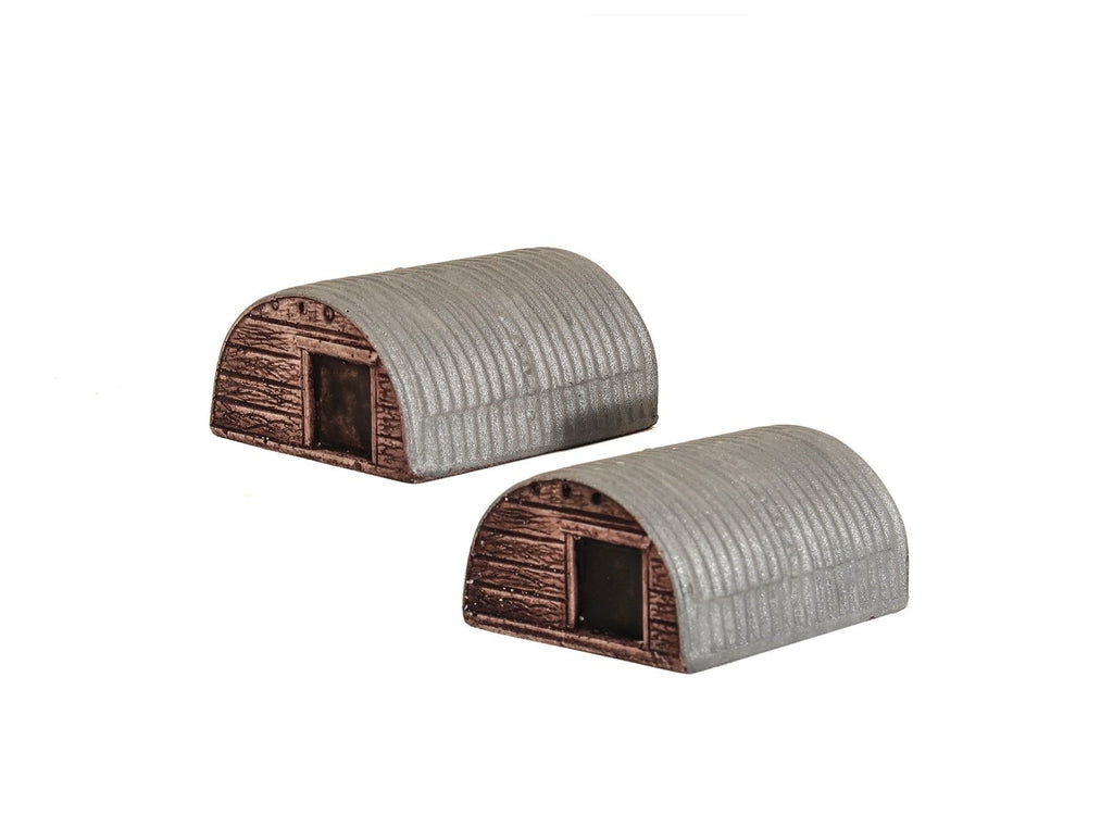 Harburn Hamlet - OO Two Corrugated Animal Shelters - CG230