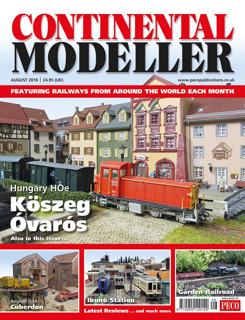 Continental Modeller AUGUST 2018 ISSUE Vol 40 No 8