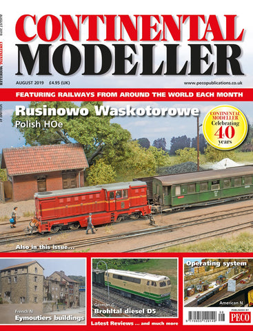 Continental Modeller AUGUST 2019 Vol 41 No 8