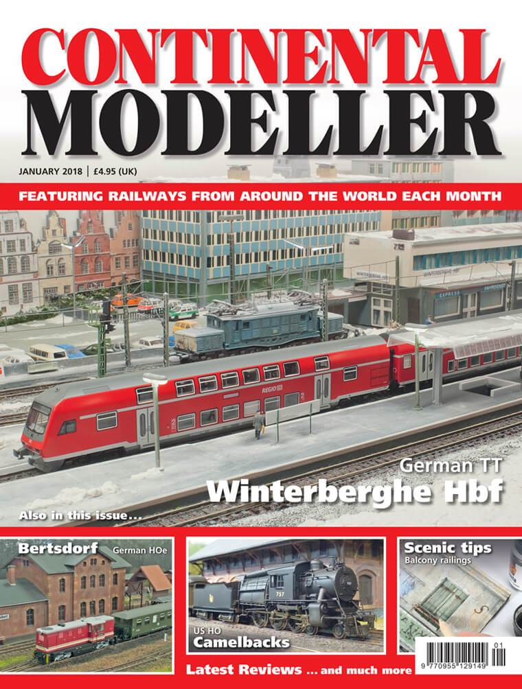 Continental Modeller JANUARY 2018 ISSUE