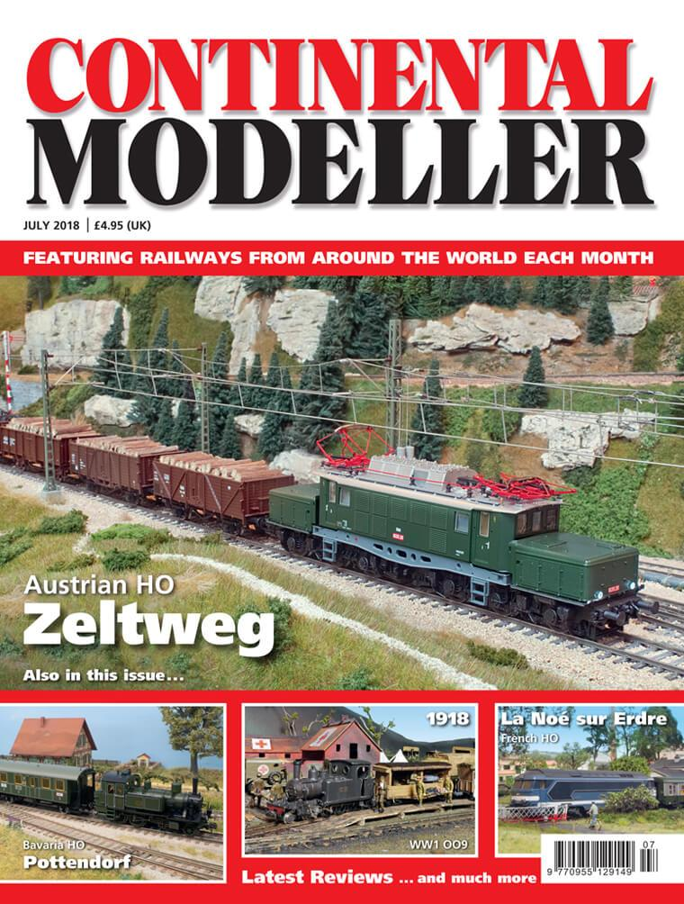 Continental Modeller  JULY 2018 ISSUE