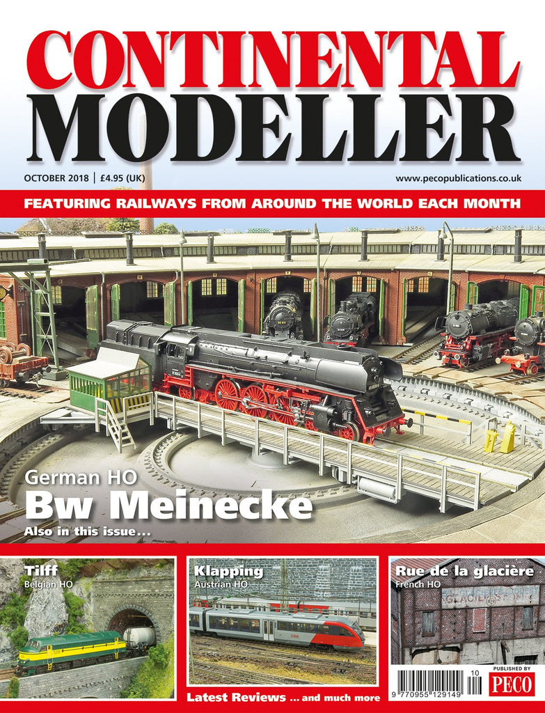 Continental Modeller OCTOBER 2018 ISSUE Vol 40 No 10
