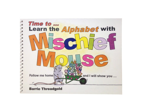 Time to Learn the Alphabet with Mischief Mouse