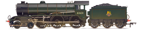 BR B 17/2 Class, 4-6-0, 'Serlby Hall', Weathered