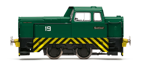 Hornby - OO Sentinel 4wDH, Barrington Light Railway,  No. 19 (1980's/90's) - R3576