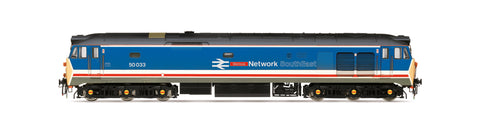Hornby - OO Network South East, Class 50, Co-Co, 50033 'Glorious' - Era 8 - R3658