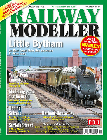 Railway Modeller JANUARY 2020 Vol.71 No.831