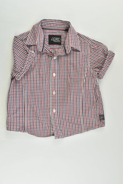 ABCD Industrie Size 1 Checked Shirt