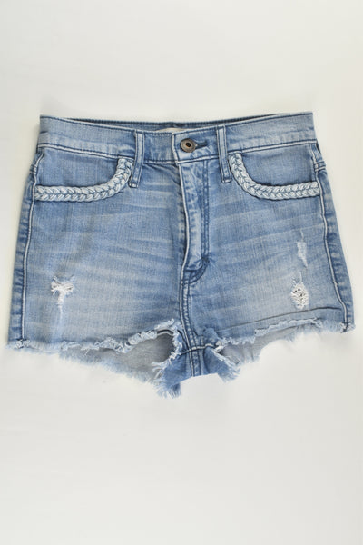 Abercrombie Kids Size 14 Stretchy Denim Shorts