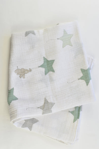 Aden + Anais Elephants and Star Balloons Muslin Wrap