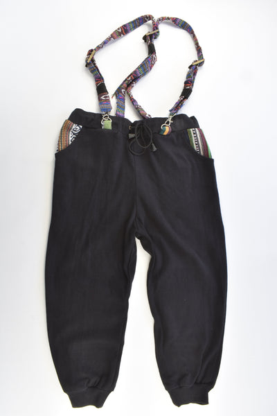 Anjel Ms Size approx 5-6 Baggy Loose Fit Nepal Suspender Pants