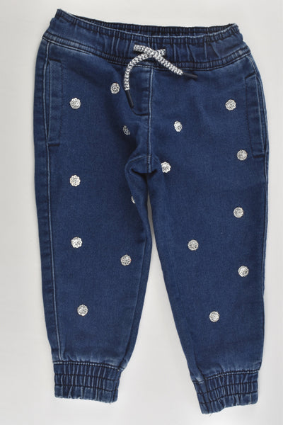 Anko Size 1 Stretchy Denim Pants