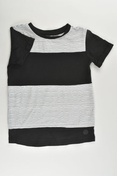 Anko Size 3 Black and White T-shirt