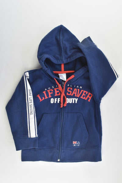 Australian For Life Size 2 'Lifesaver Off Duty' Hooded Jumper