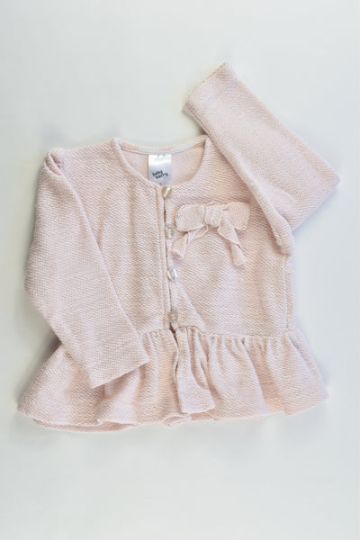 Baby Berry Size 0 Cotton Cardigan