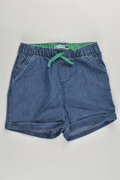 Baby Boden Size 2 (18-24 months) Lightweight Denim Shorts