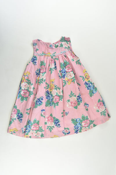 Baby Boden Size 2-3 Lined Floral Dress