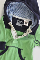 Baby Gap Size 0-3 months Hooded Playsuit