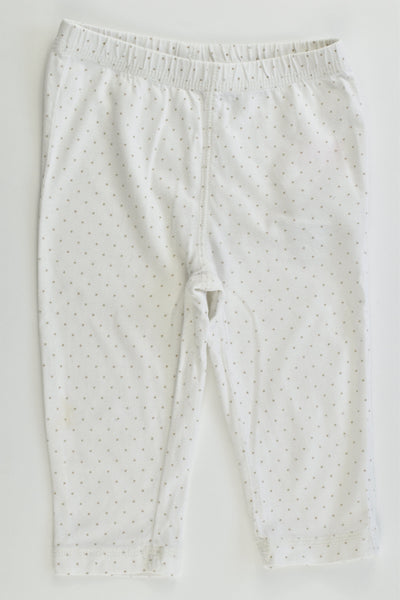 Baby Gap Size 1 (12-18 months) Dotted Leggings