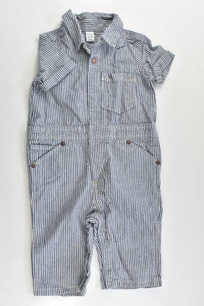 Baby Gap Size 1 (12-18 months) Striped Playsuit