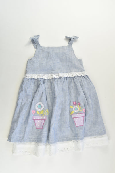Baby M&Co Size 2-3 (98 cm) Lined Dress