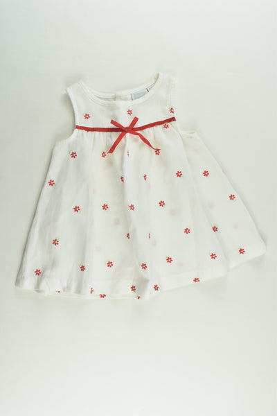 Baby Worl Size 00 Floral Dress