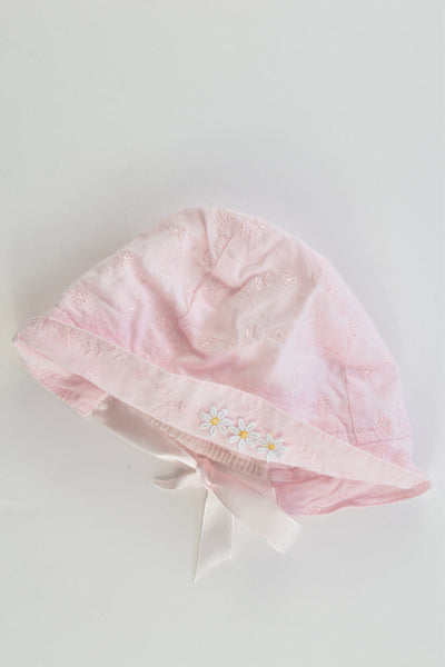 BabyBiz Size Up to 3 months Lined Summer Hat