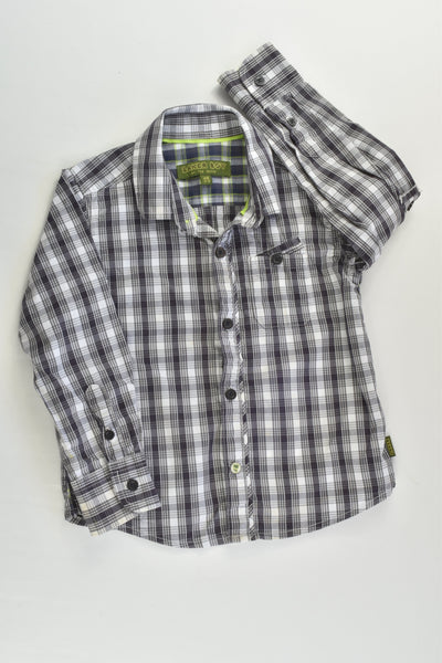 Baker Boy by Ted Baker Size 2-3 Checked Shirt