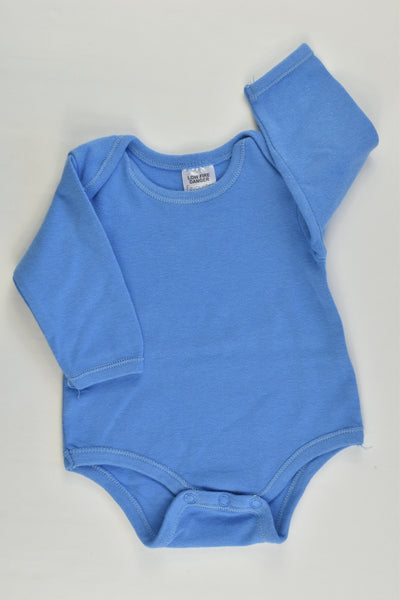 Best & Less Size 000 (0-3 months) Blue Bodysuit
