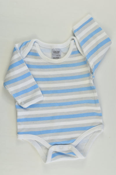 Best & Less Size 000 (0-3 months) Striped Bodysuit