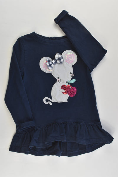 Bluezoo by Debenhams Size 2 Mouse Top