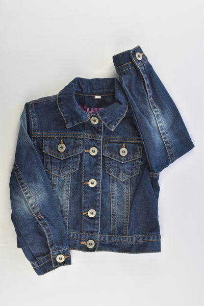 Bluezoo by Debenhams Size 4 (104 cm) Denim Jacket