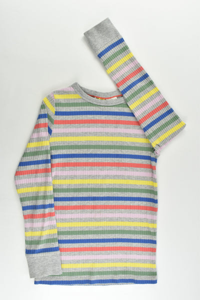 Boden Size 9-10 Striped Ribbed Top