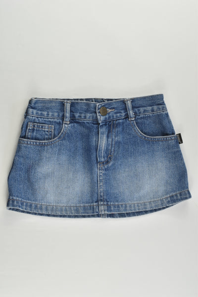 Bonds Size 2 Denim Skirt