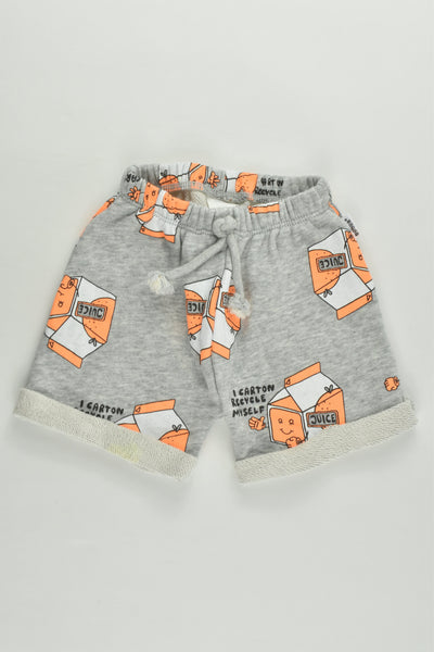 Bonds Soze 000 (0-3 months) 'I Carton Recycle Myself' Shorts