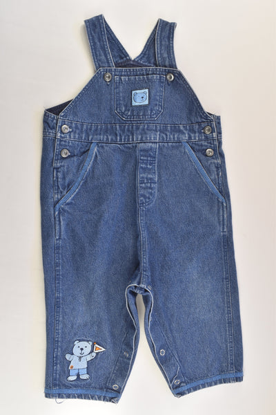 Bramd Unknown Size 0 Bear Denim Overalls