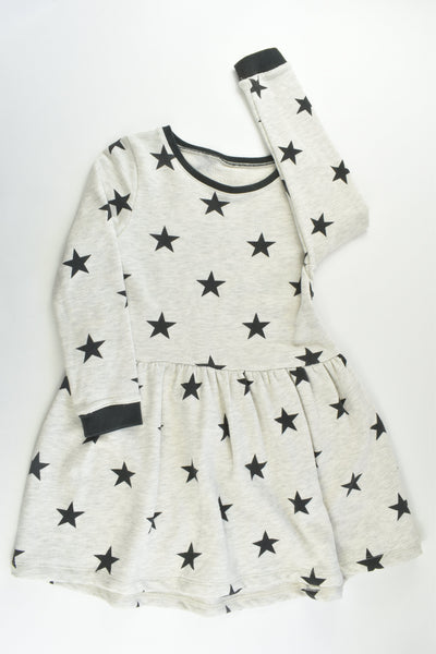 Brand Unknown Size approx 6 Stars Sweater Dress