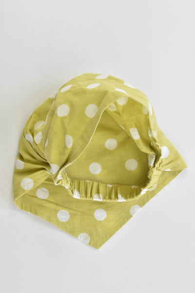 Brand Unknown Size approx up to 1 year Dotted Headscarf