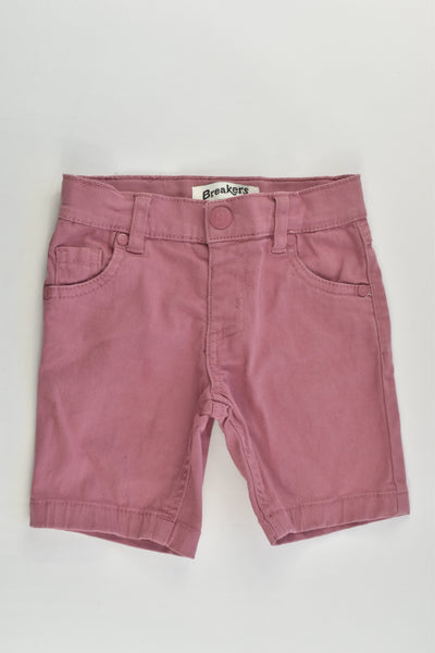 Breakers Size 2 Stretchy Shorts