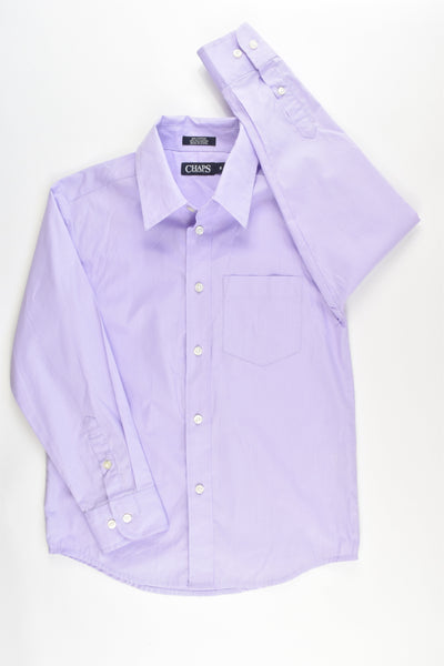 Chaps Size 8 Formal Shirt