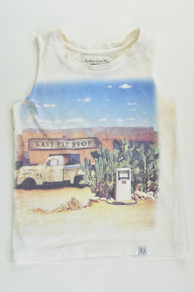 Children Of The Tribe Size 1 (12-18 months) 'Last Pit Shop' Tank Top