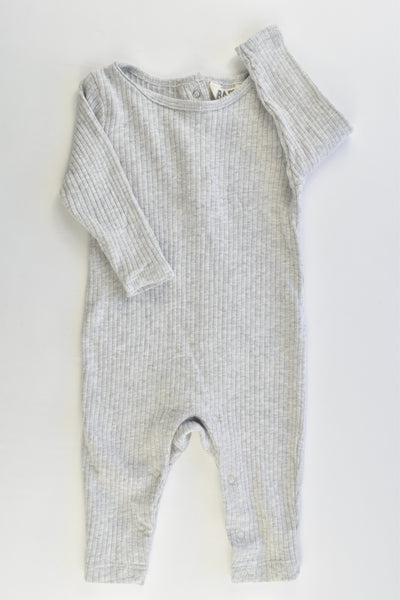Cotton On Baby Size 00 (3-6 months) Ribbed Romper