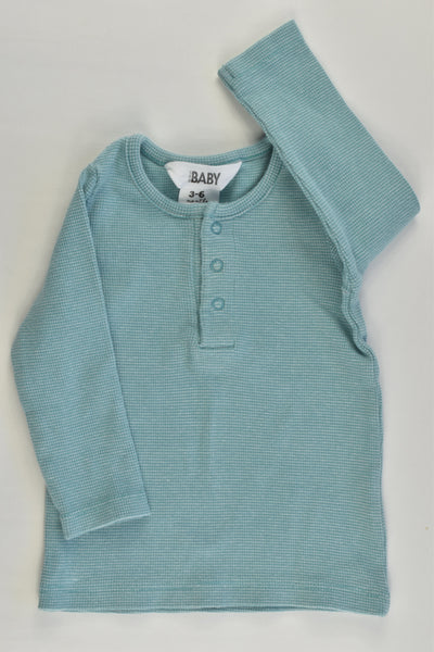 Cotton On Baby Size 00 (3-6 months) Ribbed Top