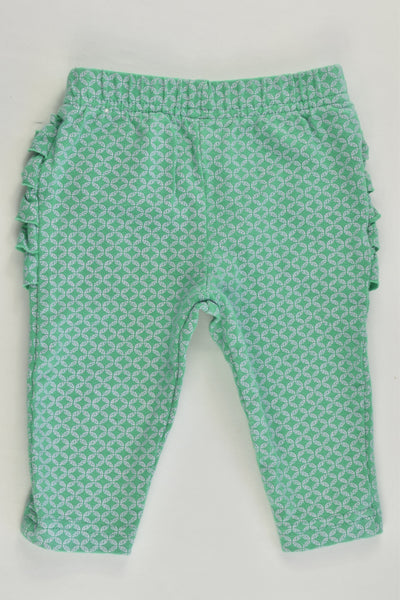 Cotton On Baby Size 000 (0-3 months) Ruffle Back Pants
